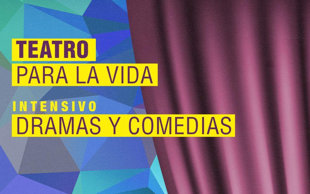 Próximo taller intensivo de teatro Dramas y comedias